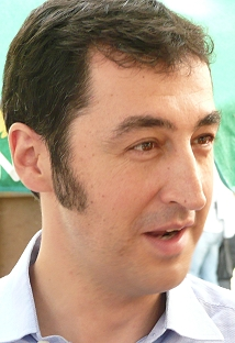 Cem Özdemir in Dachau (Mitte September 2008)