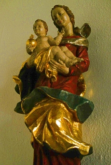 Marienfigur in der Altenheimkapelle
